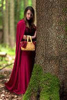 Valeria as Little Red Riding Hood